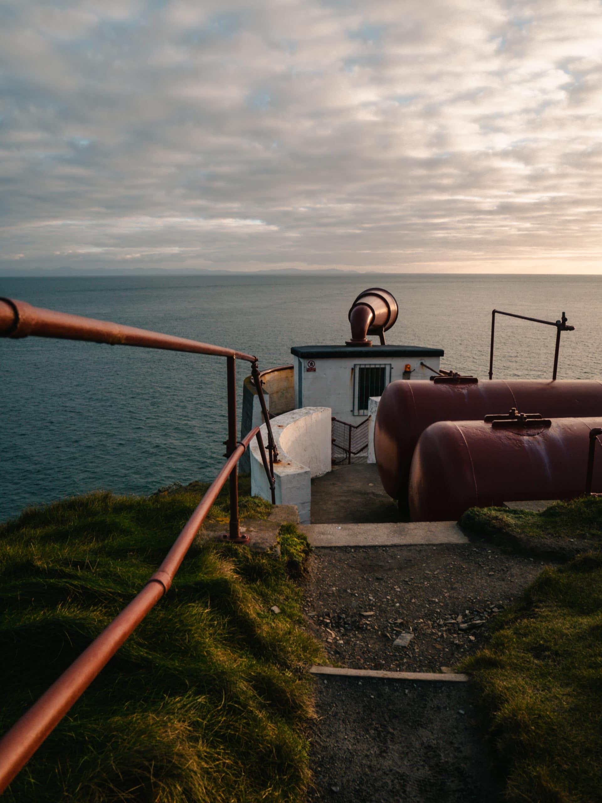 mull of galloway phare lighthouse sunset coucher de soleil