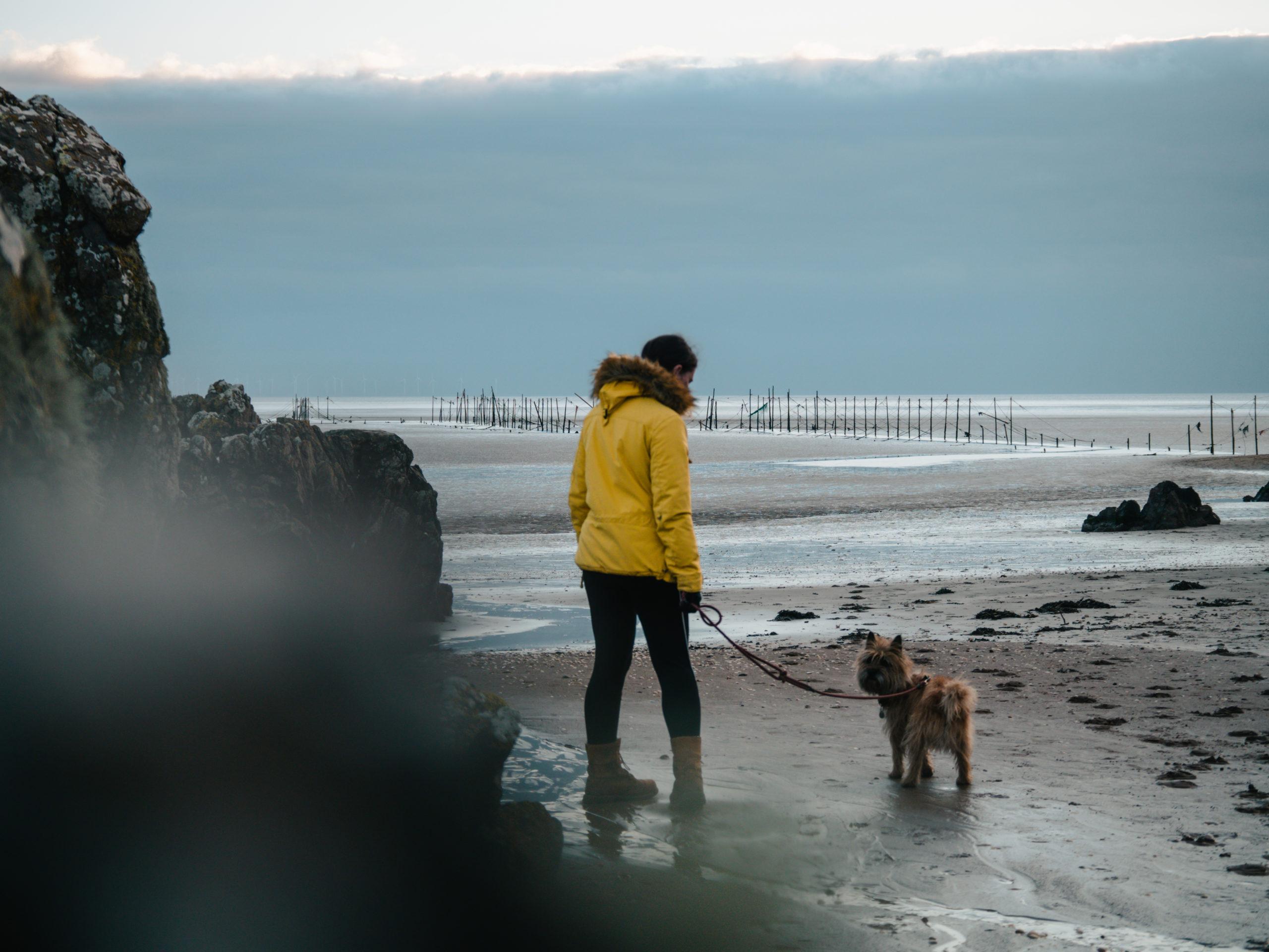sandyhills plage promenade randonnée mer écosse