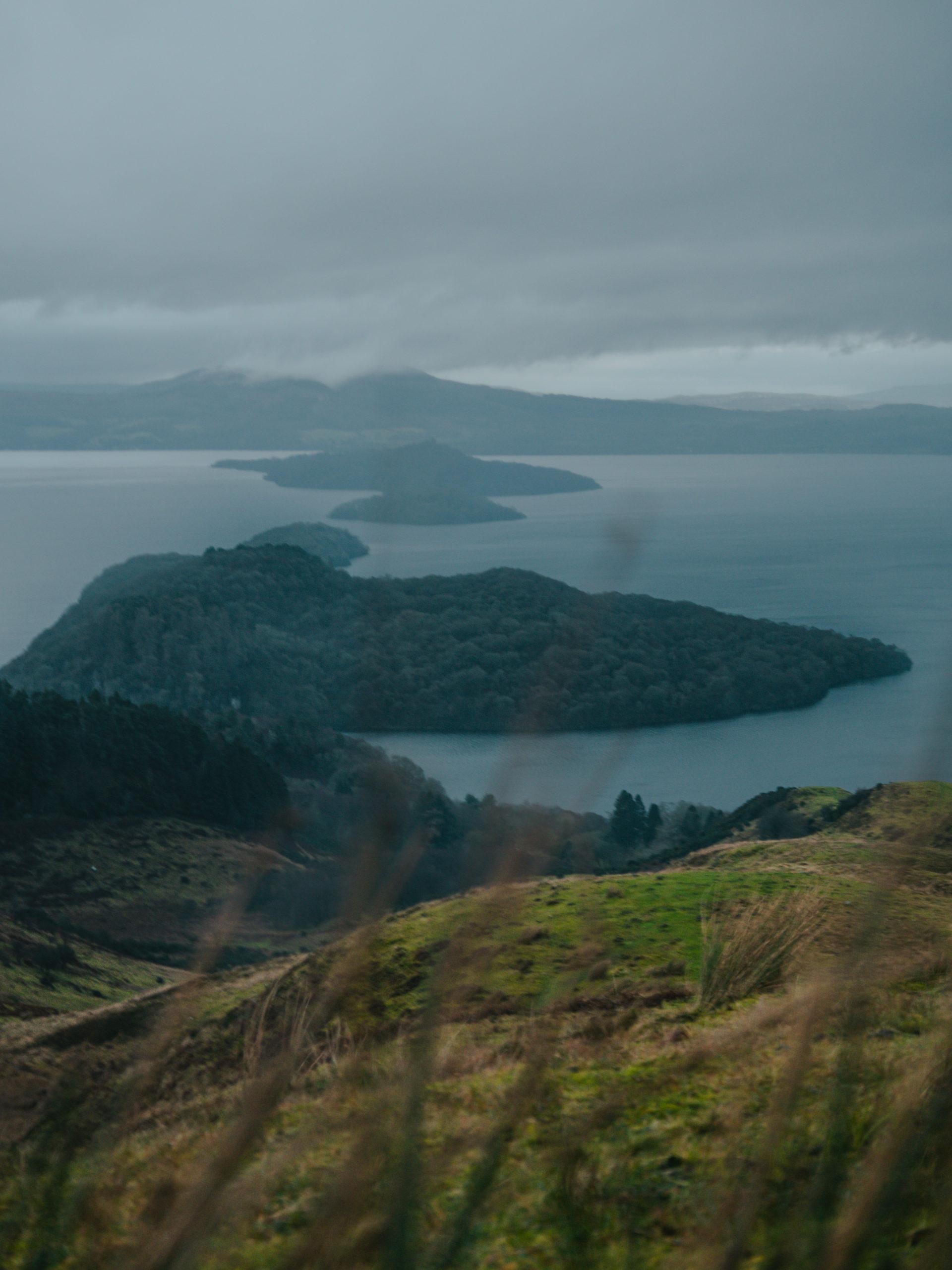 conic hill highlands road trip randonnées
