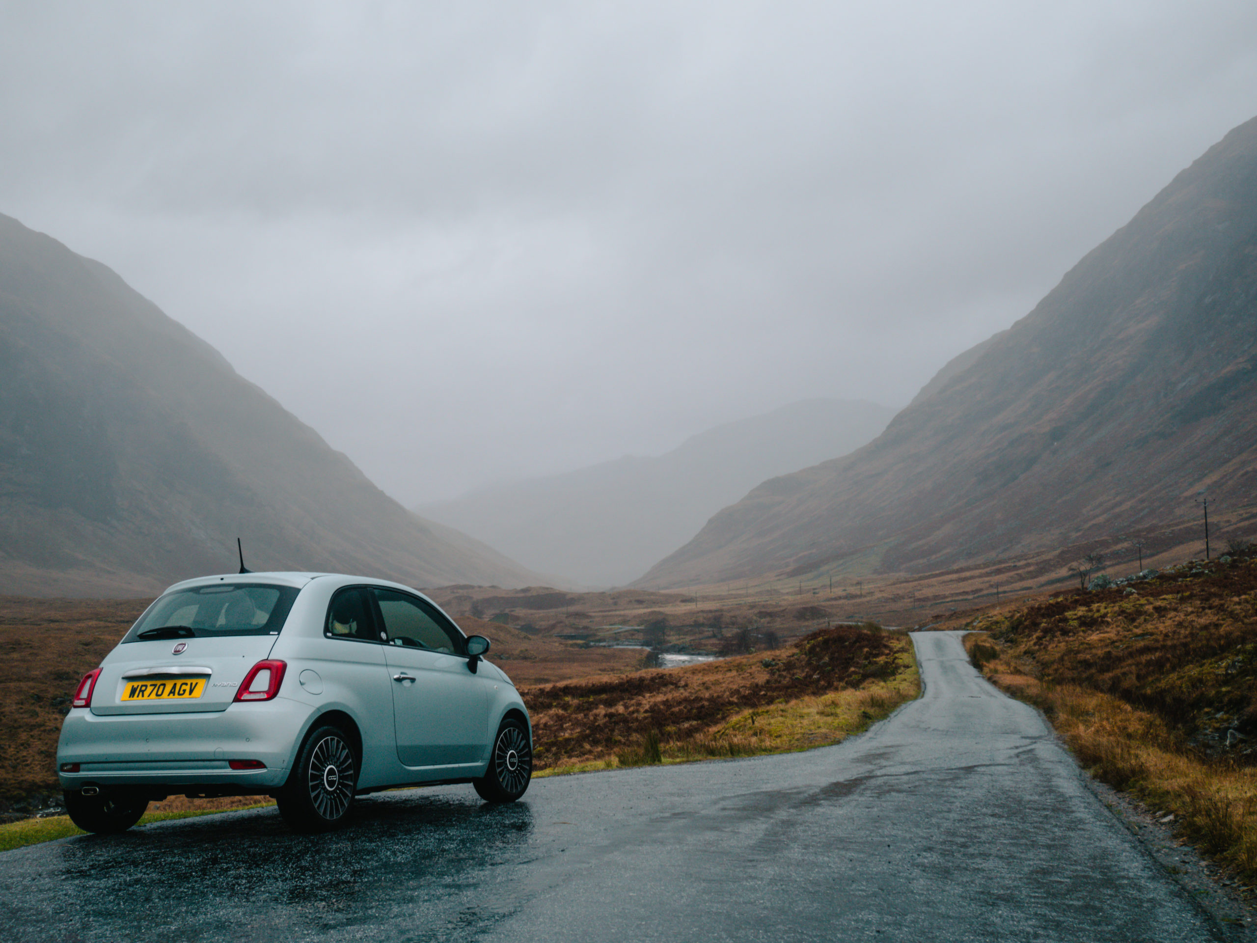 glencoe road trip écosse conseil