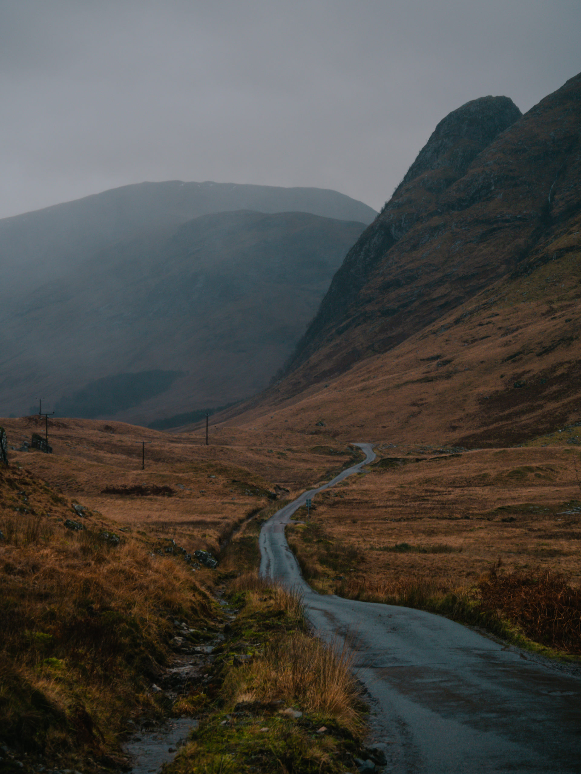 glencoe glen etive road trip route montagne écosse