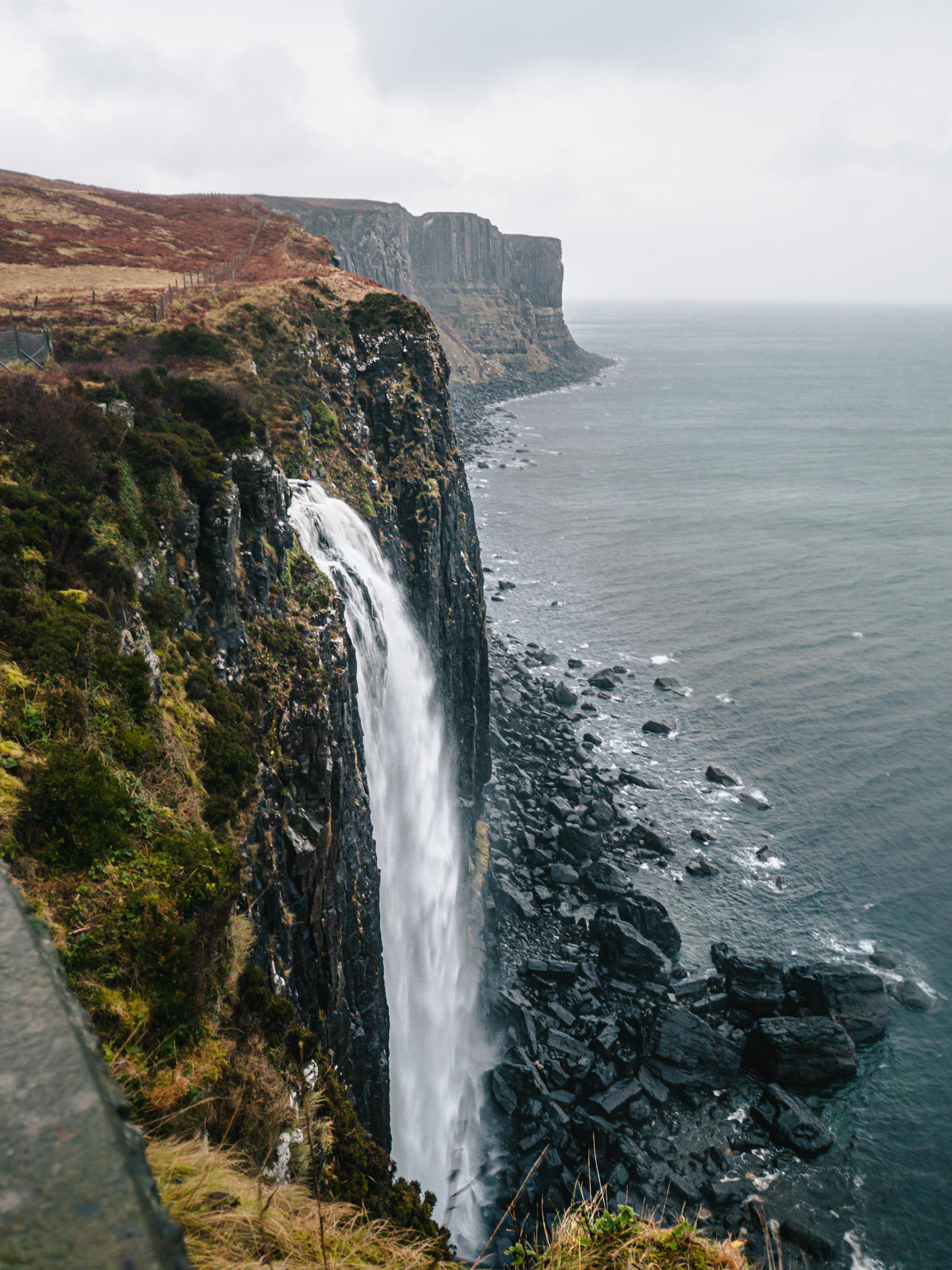 Kilt rock cascade isle of skye
