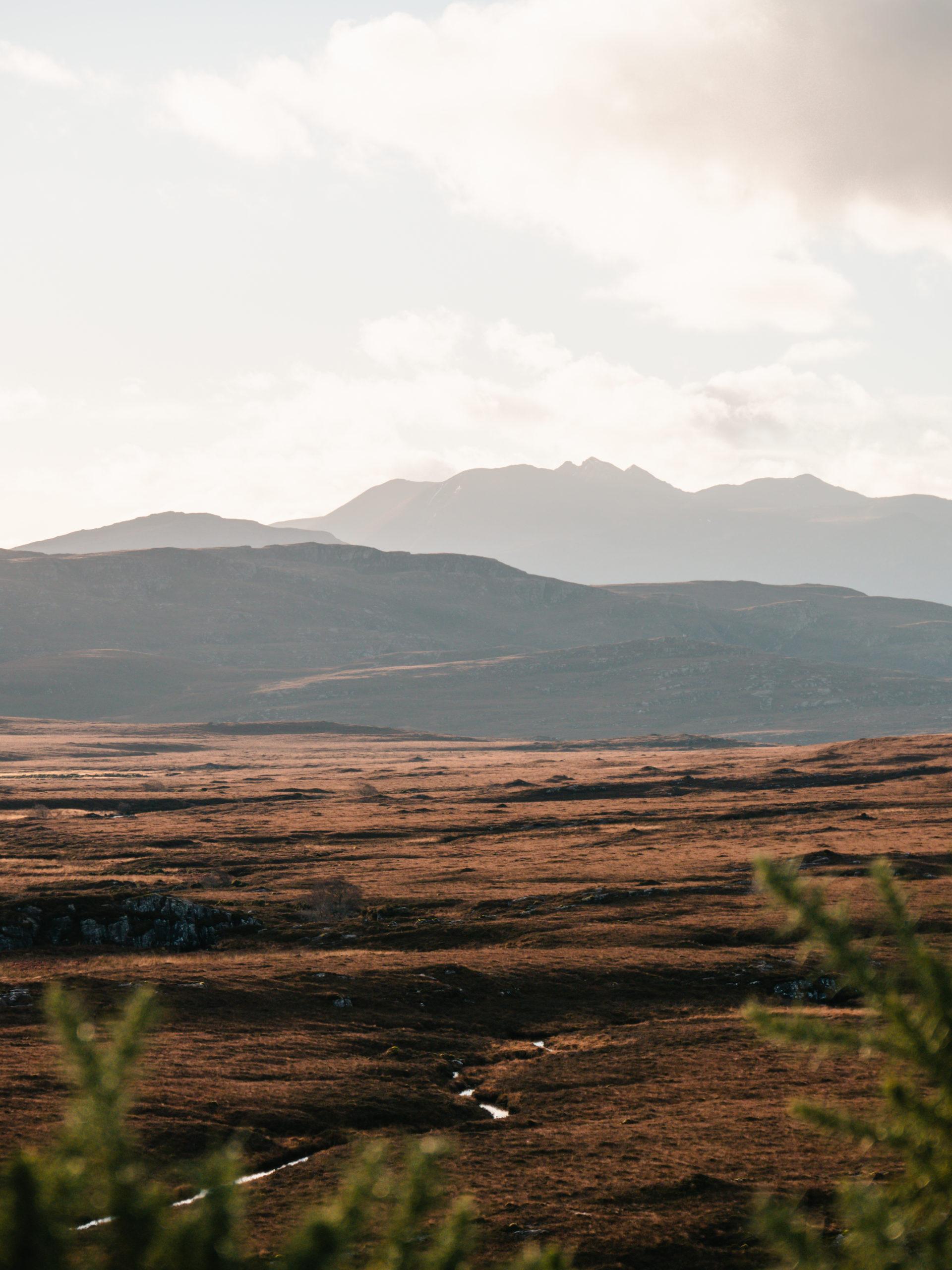 route voyage écosse paysage