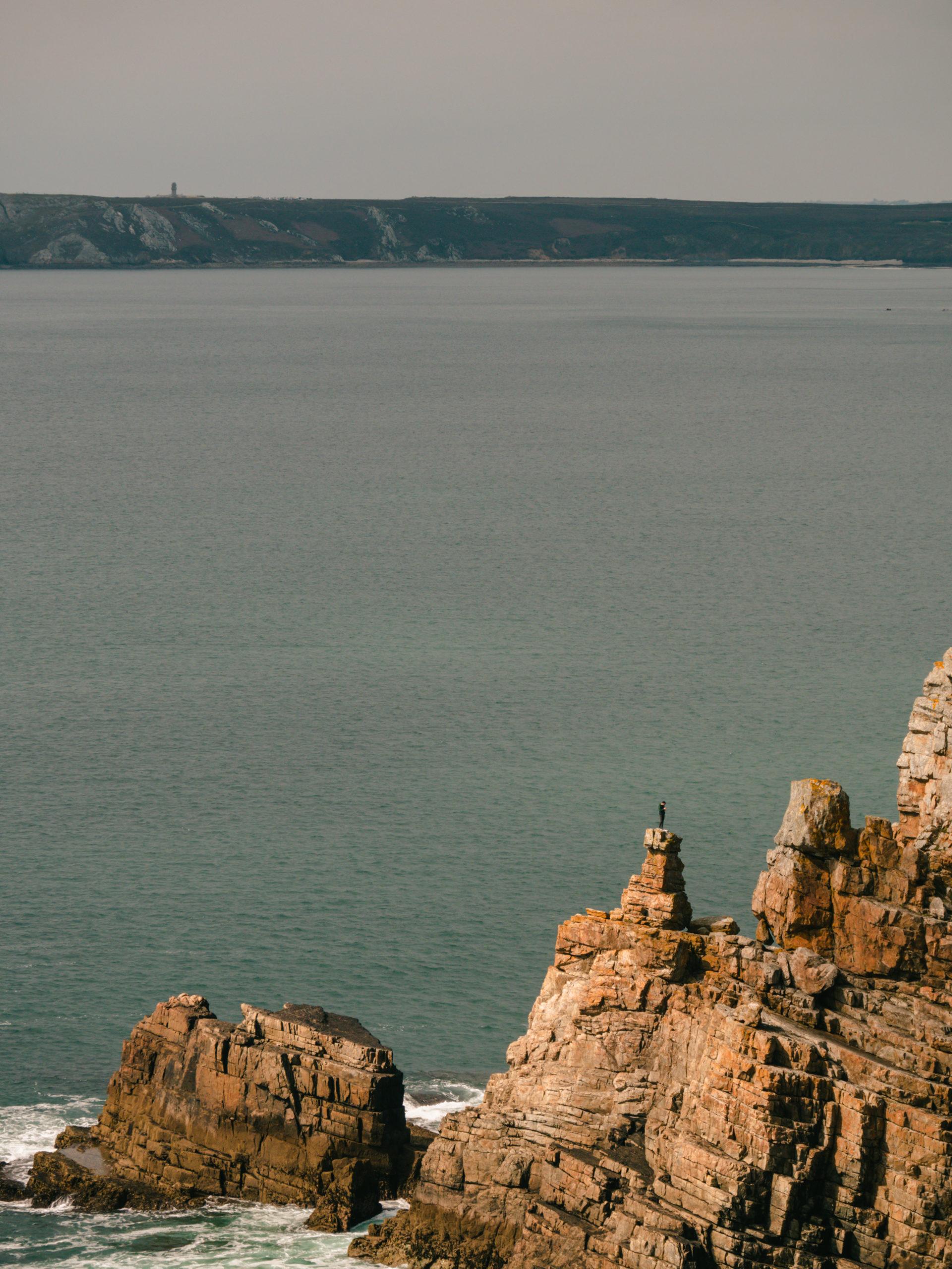 Pointe de Dinan falaise mer