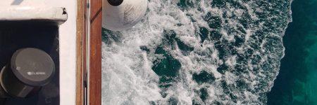 bateau mousse mer