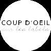Logo rond white - coup d'oeil sur les labels