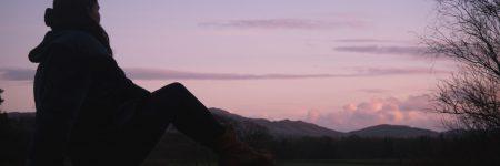coucher de soleil écosse solo traveler