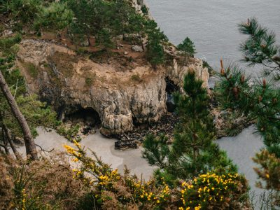 plage crozon île vierge